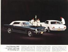 Mustang i sin första uppenbarelse, en '64½ eller '65:a.