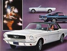 1966 års modell fick en ny grill och runda instrument. Fastback tillkom.
