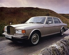 Rolls-Royce Silver Spirit 1990.