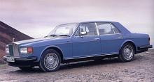Silver Spirit var lite klossigare än föregångaren, men linjerna är tidlösa och framtoningen värdig. Precis som det ska vara med en Rolls-Royce.