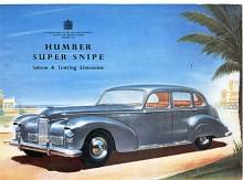 Inför 1949 moderniserades Super Snipe med inbyggda strålkastare och utbyggt bakparti. Resultatet var väl inte helt lyckat men typiskt för 40-talets moderniseringar av förkrigsbilar.