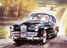 1952 var det dags för en helt ny Super Snipe. Efter att ha konverterats till toppventiler gav motorn nu som mest 122 hk. Den döptes till Blue Riband. Karossen var baserad på den mindre Hawk (se Namnsdagsbilar 14 juni) men Super Snipe var med längre motorhuv mer imposant.