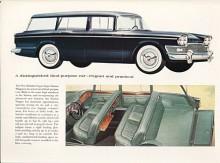 Trycksakerna från Rootes var mycket USA-inspirerade och denna variant av Super Snipe kallades stationsvagn men begreppet herrgårdsvagn borde ha varit mer passande.