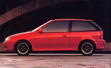 Suzuki Swift från 1990.