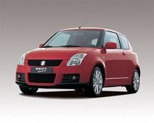 2007 års Suzuki Swift.