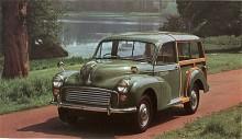 Den mest kända och älskade kombin från Morris är Minor Traveller som debuterade 1953 och var den Minor som 1971  sist slutade att tillverkas. Den utvändiga strukturen av askträ är bärande. Genom åren har många renoverats och en del också mekaniskt uppdaterats för hänga med i modern trafik.