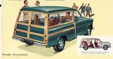Morris Oxford series II resp III (1954-1959) fanns också som Traveller byggda på samma sätt som Oxford MO och Minor. Den som vill se en bild av den sexcylindriga Morris Isis som Traveller får leta upp Namnsdagsbilar den 10 februari.