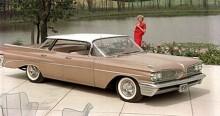 1959 var första året Catalina blev en fristående modell. Billigast hos Pontiac.