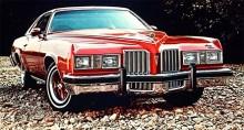 Över stock och sten. 1977 gällde fortfarande samma grundkaross. Minsta motorn var en V6 på 231 kubiktum och största en V8 på 455 kubiktum.