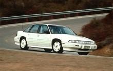 1988-96 Grand Prix kallas generation 5. Framhjulsdrivna bilar med antingen en rak fyra eller olika V6 versioner att välja mellan, med turbo gav värstaV6;an 210 hk.