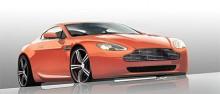 2008 uppförstorades denna V8 till 4 735 cm3 och 430 hk - bilden. 2009 har en ännu ruggigare V12 Vantage presenterats på 5 935 cm3 och 517 hiskliga hk. DB9, DBS och Vanquish är andra aktuella modeller från Aston Martin.