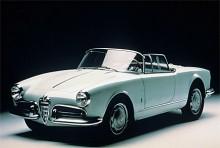 Alfa Romeo Giulietta Spider byggdes mellan 1955 och 1962.