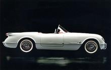 """Första Corvetten gick under internnamnet """"Project Opel"""" när den utvecklades. Presentationen skedde på årets Motorama show."""