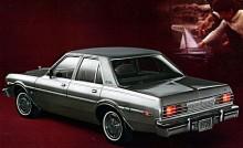 Större bakljus kom 1978 och som tidigare: rak sexa eller V8 att välja mellan. Precis som föregångaren Valiant hade Aspen torsionsfjädring fram och bladfjädrar bak.