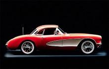 1956 fick Corvette en ny kaross och nu satt sedan ett år en V8 under plasthuven. Men den räknas fortfarande till generation C1.
