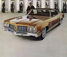 1969 blev Delta 88 basmodellen i modellprogrammet, detta är 1970 års modell.