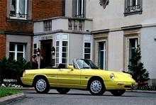 Sista upplagan av Alfas bakhjulsdrivna Spider kom 1990 och hade en helt ny akter. S4 brukar den kallas.