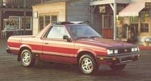 Även generation 2 fanns som pickup, en modell som blev väldigt populär i Sverige. Tyvärr hette den inte BRAT här utan 1800.