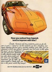 1968 kom C3 som skulle bli den mest långlivade generationen, den höll fram till 1982.