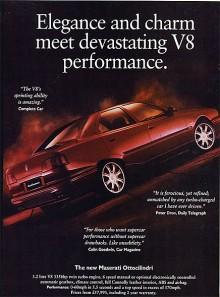Mellan 1990 och 1994 var det återigen ett upphåll i Quattroporte-tillverkningen men sedan kom Fyran. Det var en betydligt nättare bil än föregångaren, ritad av Marcello Gandini och från början försedd med V6-motorer med dubbelturbo. Senare kom även en Biturbo-V8. Drygt 2800 exemplar tillverkades fram till 2001 då det var dags för ännu ett uppehåll i Quattroporte-historien.