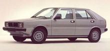 Lancia har ofta använt grekiska bokstäver som modellnamn. Delta som presenterades på Frankfurtsalongen hösten 1979 var en golfklassare som delade mekanik med Fiat Ritmo. Karossen var ritad av ItalDesign och Saab var involverade i vissa delar av utvecklingen, bland annat värmesystemet. I Sverige såldes bilen som Saab-Lancia 600 och ersatte V4-modellen i Saabhallarna. Delta/600 blev utsedd till Årets Bil 1980 och de första åren sålde den riktigt skapligt i Sverige.