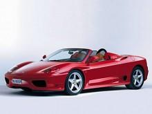 Ferrari har länge benämnt sina öppna bilar som Spider, detta är en 360 Spider.