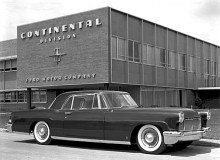 Under en period på 1950-talet så var Continental en egen division inom Ford. Här syns en Continental från 1956.