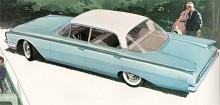 Helt ny kaross blev det också 1960 men den här gången utan stilmässiga tillbakablickar. Fairlane var nu den billigaste modellserien men för 77$ till fick man motsvarande Fairlane 500 med mera krom.
