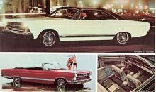 Med ny kaross sedan 1966 fortsätter Fairlane 1967 nu med ett sportigt prestandatema. Det gällde att hänga med GM som med Pontiac GTO hade initierat segmentets muskelbilar.
