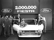 Redan 1981 hade två miljoner Ford Fiesta tillverkats.