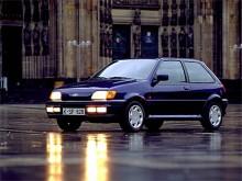 1989 introducerades Mark III. Fortfarande fanns drag kvar av formerna från den ursprungliga Fiestan.