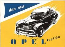 Förkrigsformerna fick en modernisering 1951 och Kapitän ser nu ut som en amerikanare av 1947 års modell. Men något nytt var på gång..