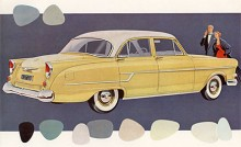 En lyckad omarbetning gjordes för Modell -56 presenterad hösten 1955. Effekten var nu 75 hk, på export upp till 82 hk. En L-version fanns och man kunde också få overdrive. En i Sverige mycket omtyckt nybil.