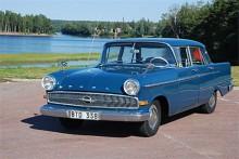 Med Kapitän P 2,6 (1959-1964) rättades det mesta till och modellen blev den mest sålda av alla Kapitäntyper. På bilden en bil som 2007 kunde ha blivit Klassikers redaktionsbil om inte chefredaktören bestämt sig för Bertil Blå i stället.
