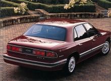 Historien upprepar sig. En ny Park Avenue visades som 1991 års modell och inför 1992 blev LeSabre på liknande sätt som förut en kompaktare och förmodligen bättre version av denna. Innerutrymmena var desamma liksom tekniken men LeSabre - på bilden en 96:a - var kompaktare med mindre överhäng fram och bak.