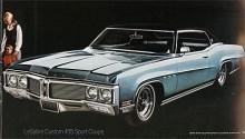 Bumper grille var högsta mode 1970 och bilarna fortsätter att växa i storlek.