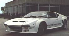 Med åren blev Pantera påhängd allt mer skrämbreddare och spoilers. Så här såg modellen ut på 1980-talet.