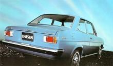 Den andra generationen Sunny kom 1970 och kallades också Datsun 1200.