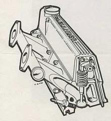 Topplocket som gav den stora effekthöjningen var en avancerad produkt från det lilla företaget Alexander. Dess grundare och ägare hade varit stridspilot under Battle of Britain och han tävlade flitigt i club racing.