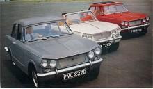 Vitesse var den billigaste sexcylindriga bilen på den engelska marknaden. Ett naturligt steg togs 1966 då Vitesse fick samma tvåliters motor som den större Triumph 2000. I Vitesse gav motorn först 95 hk. I samband med ny bakvagnsupphängning 1968 höjdes effekten till 104 hk. Det räckte till en toppfart närmare 170 km/h och acc 0-100 på runt 11 sekunder - bättre än många samtida sportbilar. Vitesse tillverkades till 1971.