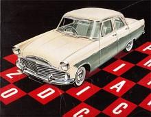 När nya versioner av Ford större modeller kom ut på våren 1956 var Zodiac en helt egen modell jämte Consul och Zephyr. Alla fick tilllägget Mark II. Zephyr och Zodiac var nu tekniskt identiska med den raka sexan upptagen till 2,6 liter och 90 hk.