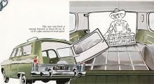 Även på Zodiac stationsvagn fanns den blanka plåten i aktern. Stationsvagnen var inte serietillverkad utan konverterad från sedaner på Fords uppdrag av en fristående karossfirma, Abotts.