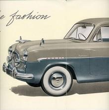 """Den första i raden hette Zephyr-Zodiac, tillverkad 1953-1956. Den var en upphottad version av Ford Zephyr med tvåfärgslackering, extraljus, vita däcksidor, kromade fälgringar och annan sådan """"lyx"""". Effekten var 72 hk, fyra mer än Zephyr.  Tillverkningen uppgick till 22 326 men troligen kom ingen till Sverige."""