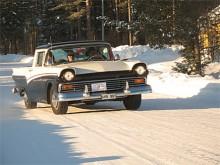 Fullsatt i Anders Gustavssons Ford Ranchero.