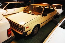 Exotisk Japan: Nissan Sentra 1985 som importerats från USA.