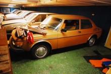 Den här Saab 99:an hör till de bilar som redan har sålts.