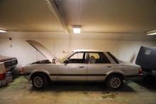 Prydlig Ford Taunus 1980 som stått avställd sedan 1995.