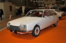 Ännu ett jubileum - Citroën GS fyller 40. Detta mycket fräscha exemplar fanns på den fabrikssponsrade klubbmontern.
