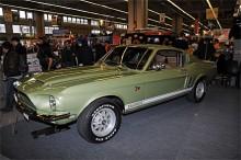 En av få utställda USA-bilar: Shelby Mustang 1967. GT500KR - King of the Road.