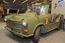En Trabant i militärutförande, kallad Grenz-Trabbi eftersom den var patrullbil vid Berlinmuren och längs gränsen mellan öst och väst.